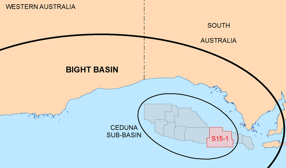 Fig 1. Great Australian Bight Petroleum Exploration Licences