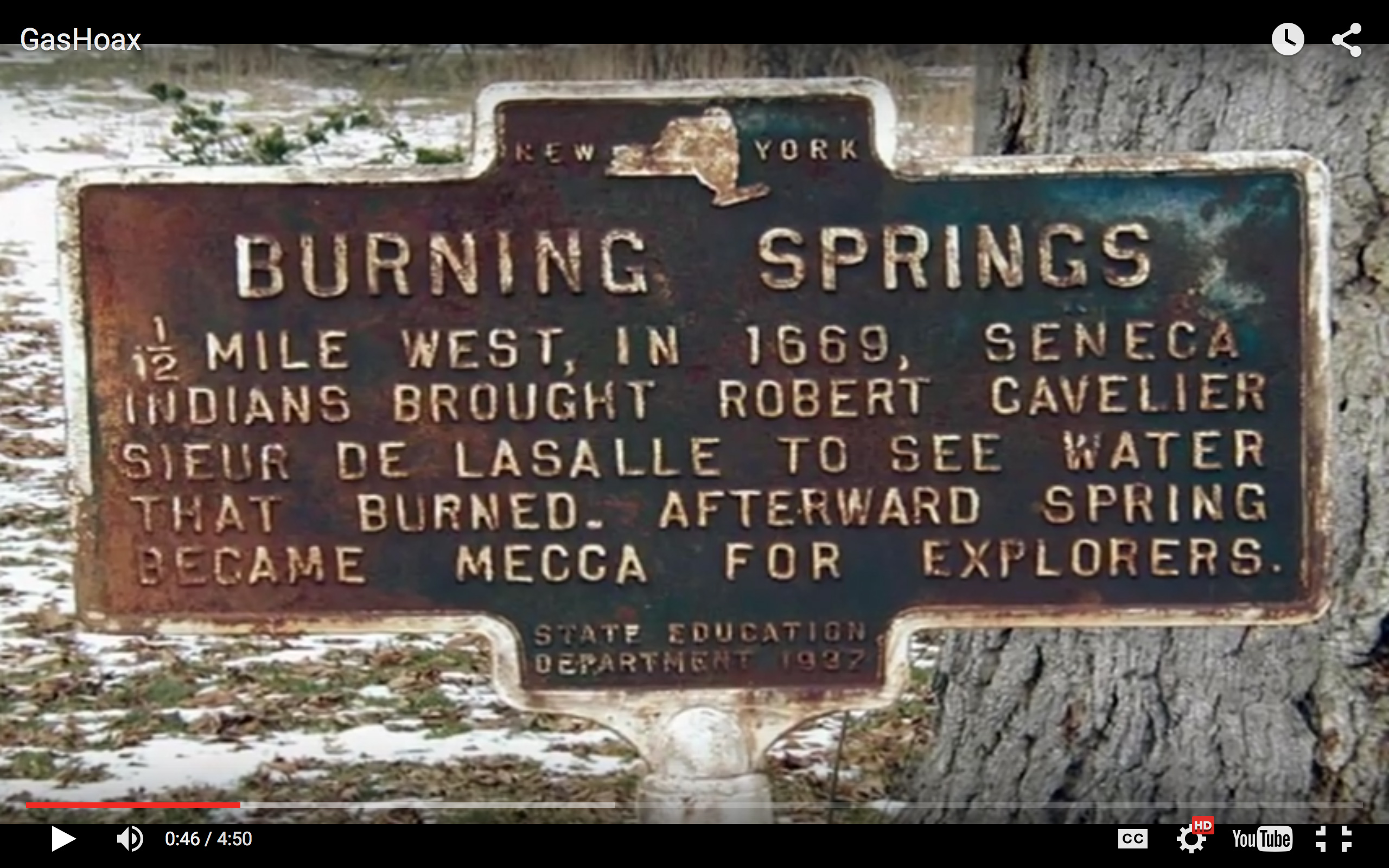 Burning Springs